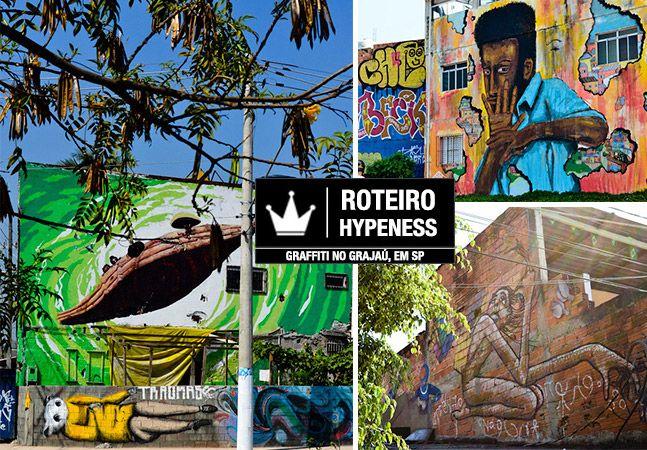 Porque o Grajaú é o melhor lugar de street art da cidade de São Paulo