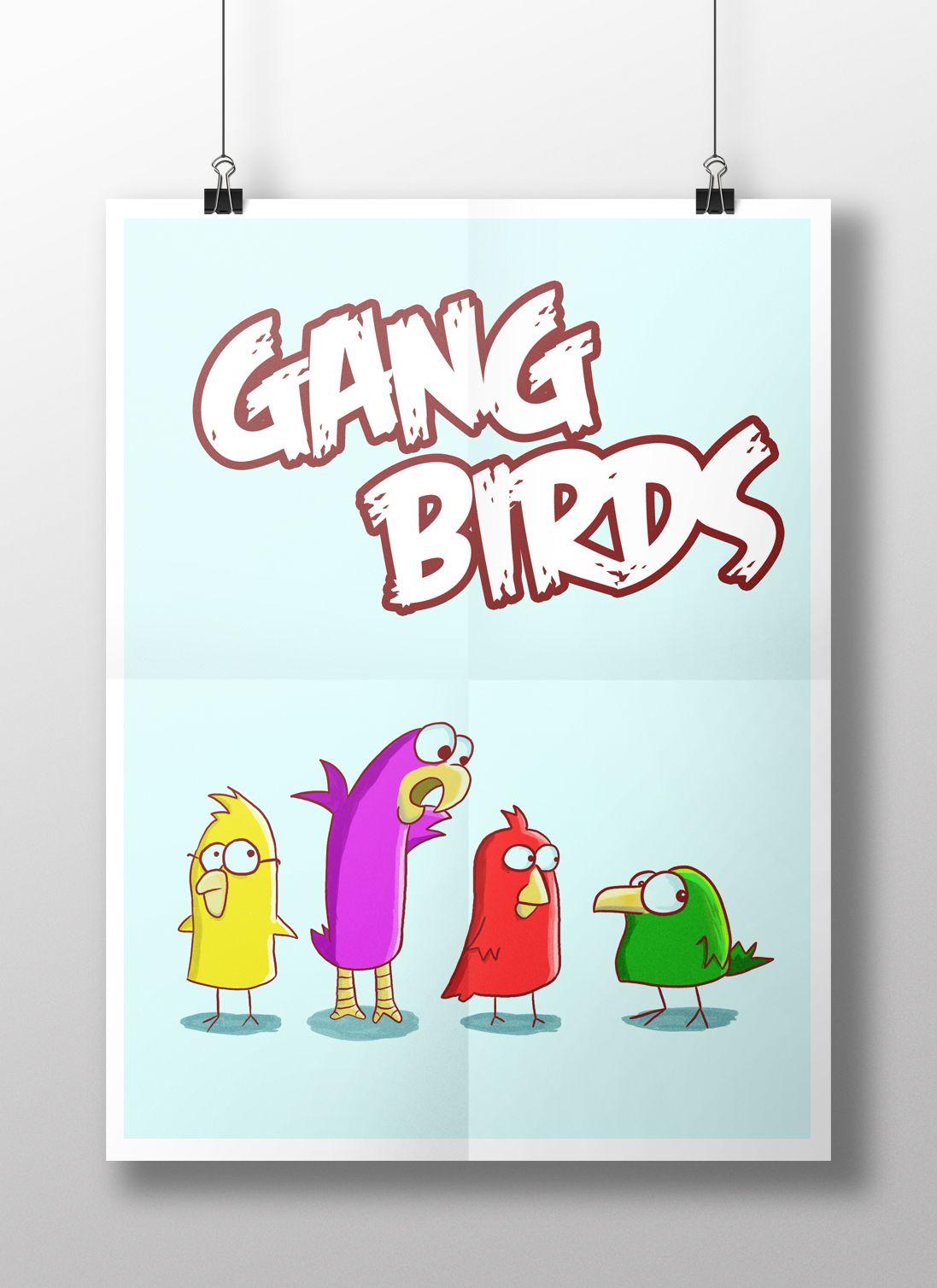 Gang Birds -  Teste de estilo :)
