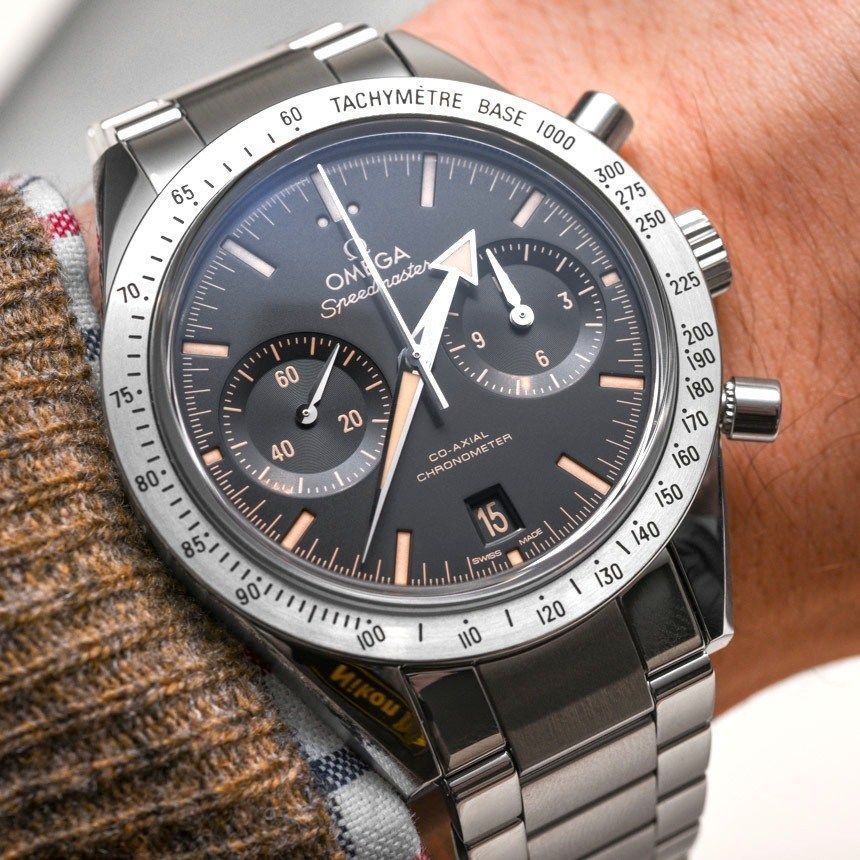 Omega Speedmaster '57 'Vintage' Watch Hands-On, 'George Clooney's Choice'   aBlogtoWatch