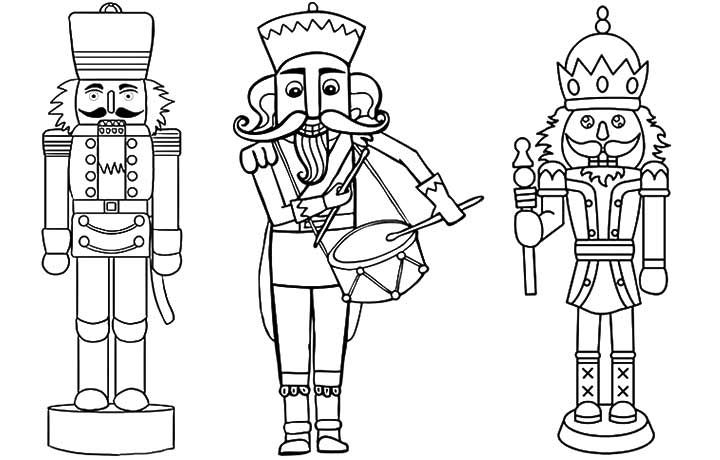 Top 20 Free Printable Nutcracker Coloring Pages Online | Pinterest ...