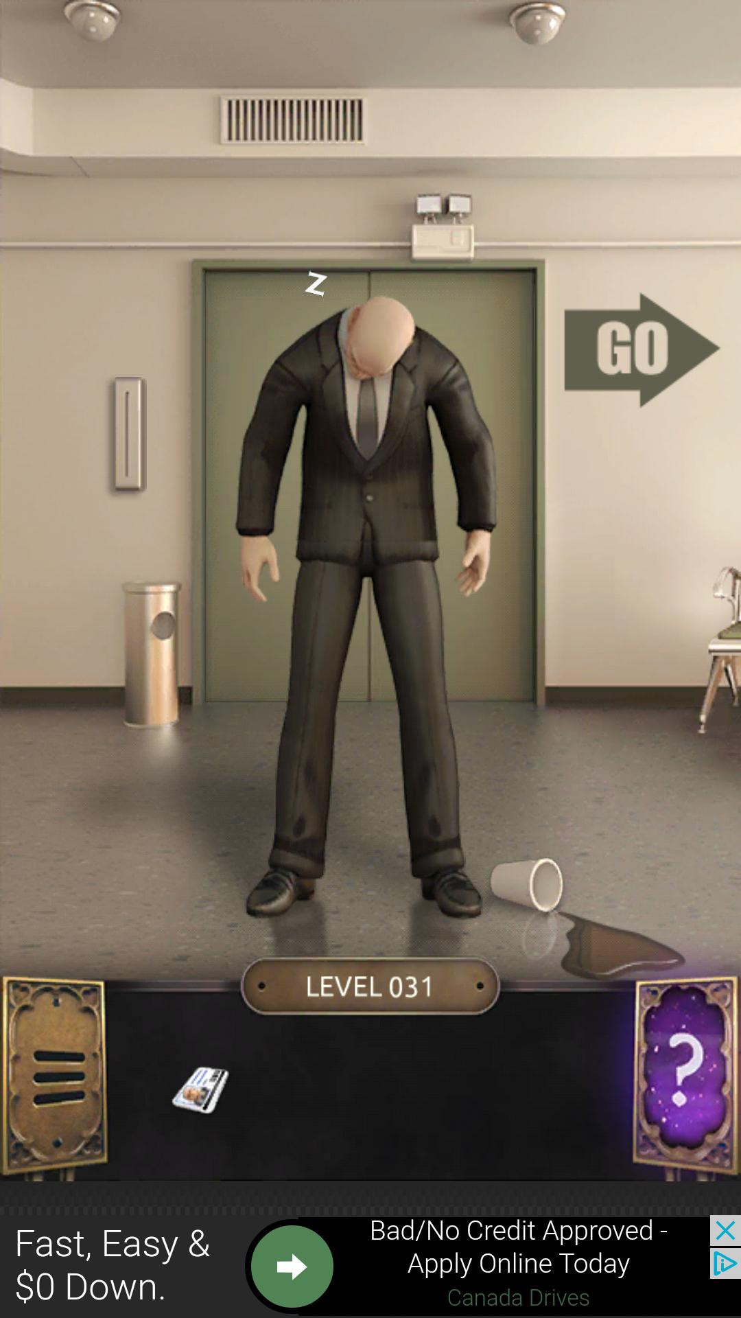 Poison the guard! Escape game, Escape room game, Leather