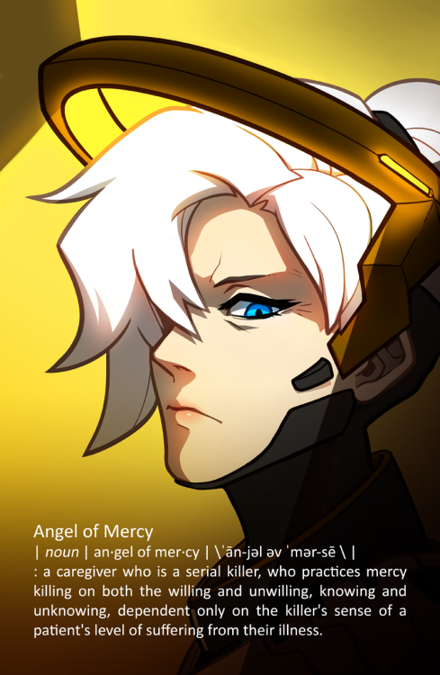 my sister mains as mercy and gets really insane kill streaks so i think she could relate to this