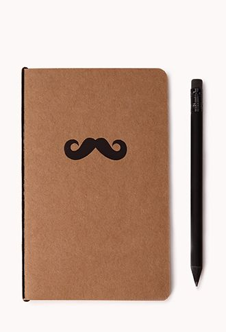 On-the-Go Mustache Notepad