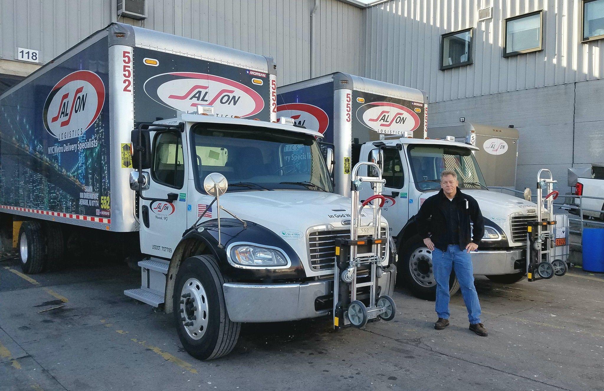Safe Fleet Delivery Equipment By Hts Systems Fleet Trucks Hand Trucks