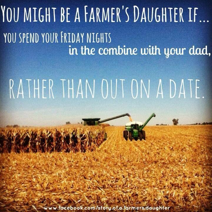 Farming Quotes Interesting Farmers Daughter  Countrythang  Pinterest  Farmers Inspiration