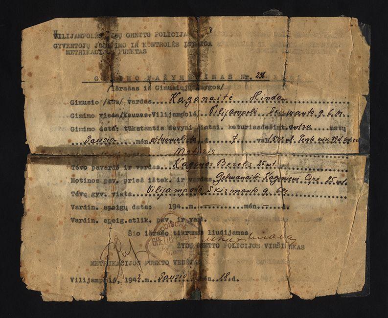 Birth certificate The Cohen Family Birth