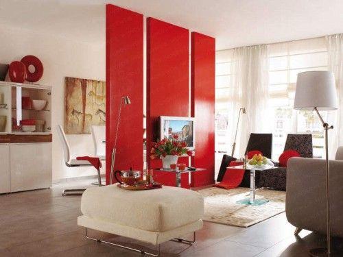 Beautiful things are love and dreams: Decoração em vermelho