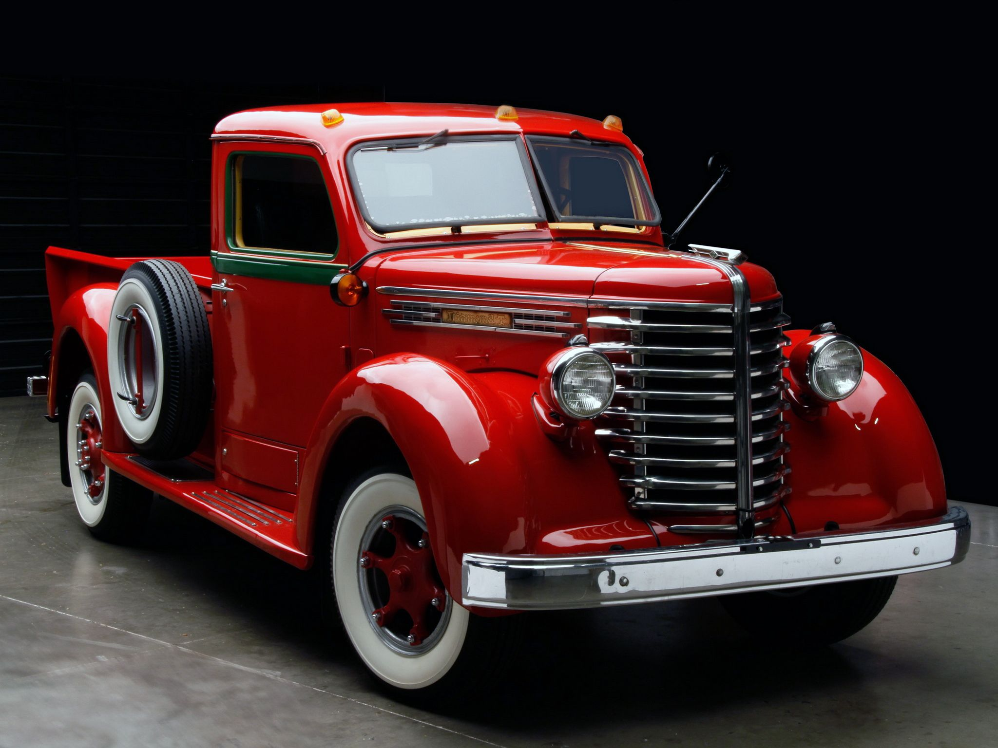 1949 Diamond T 201 Pickup This Is A Beautiful Truck Brought To
