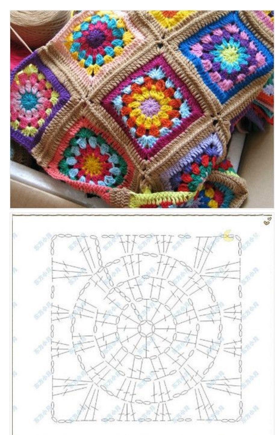 Pin de Rumnita Mazumder en Crochet beauties | Pinterest | Manta y ...