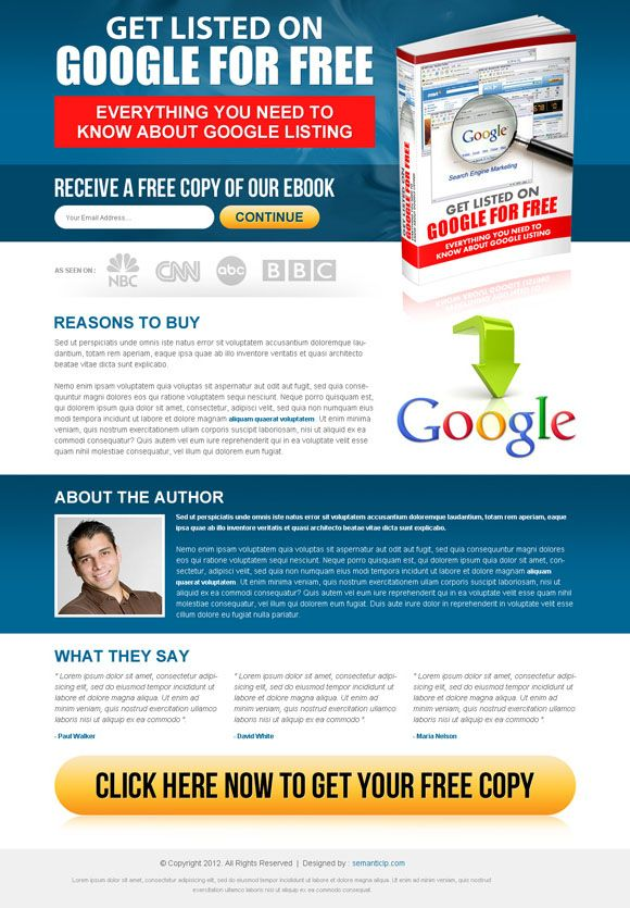 17 Best images about Landing Page Design on Pinterest   Book, Home ...