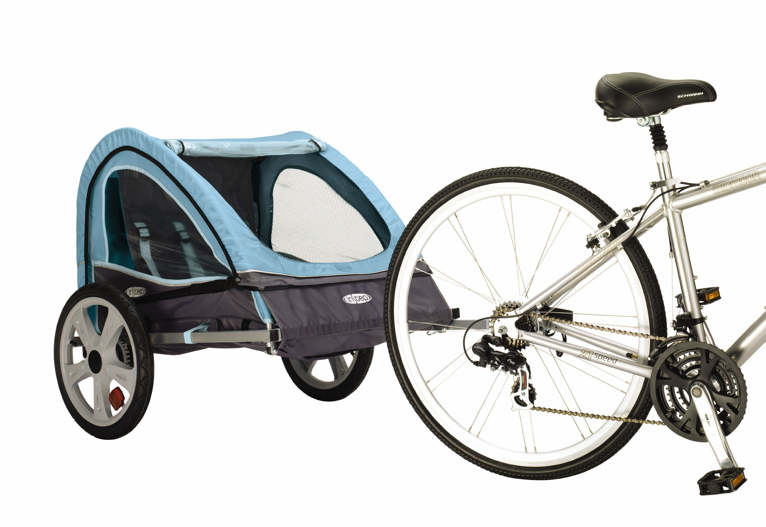InStep Take 2 Double Bicycle Trailer Child