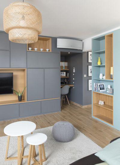 Location D Appartements Meubles A Lyon Casas Interiores De Cabanas Dormitorios Rusticos