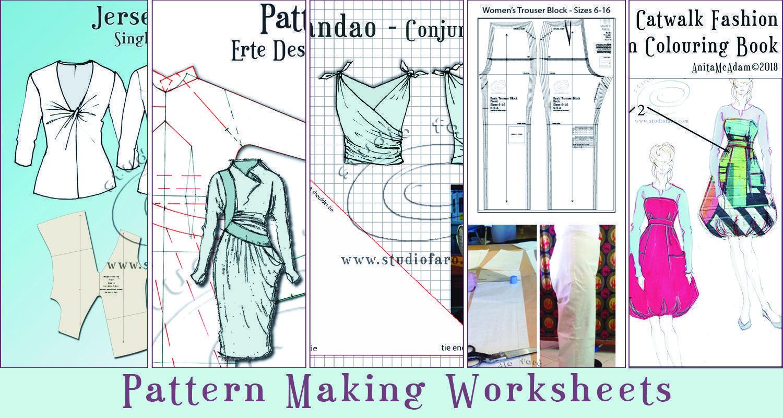 Illustration Amp Pattern Making Worksheets Downloads