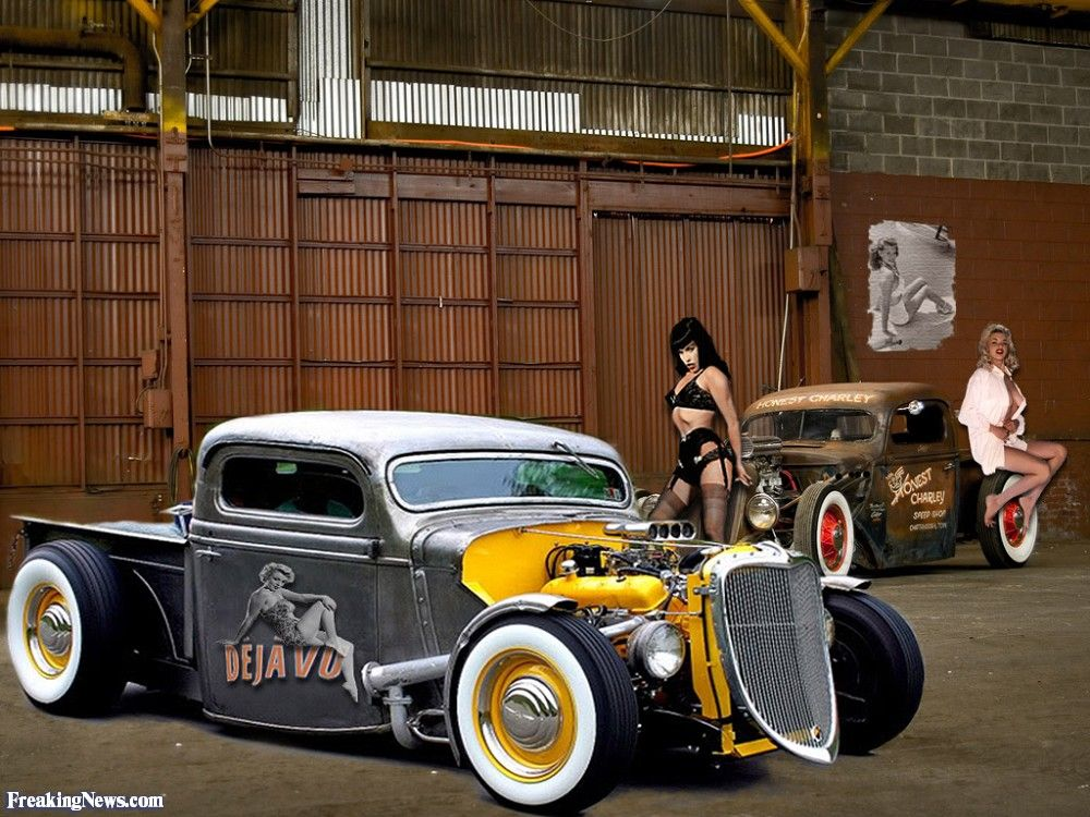 www.old classic hotrods.com | Girls and Hot Rods - hi-res pics ...