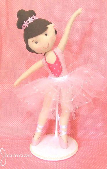 Bailarina Rosa 35 cm