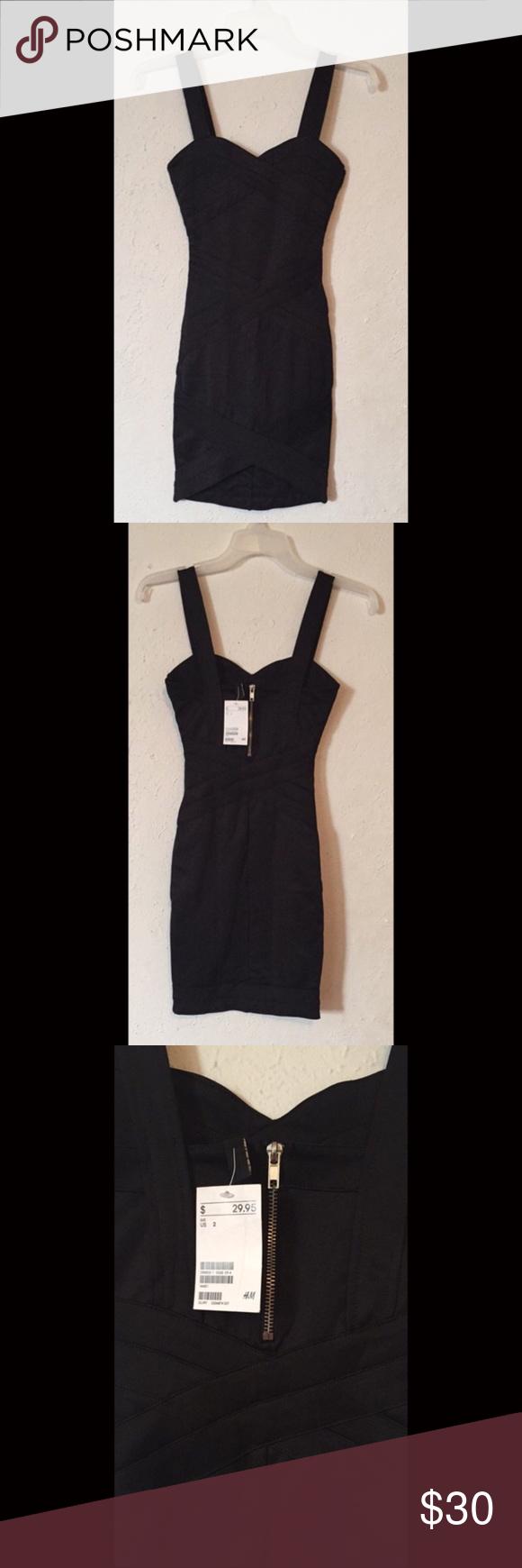 Little black dress Brand new Little black dress size 2 H&M Dresses Mini