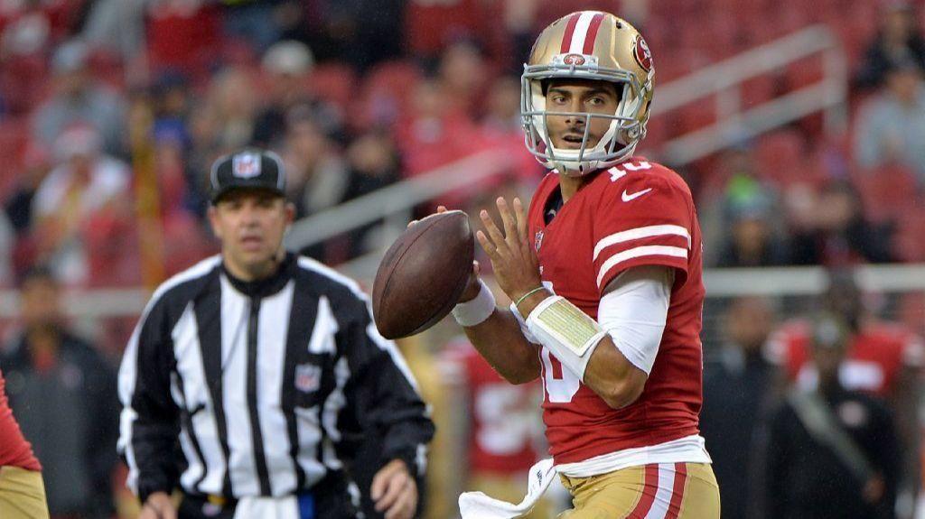 NFL Jimmy Garoppolo will get start for 49ers Nfl, 49ers
