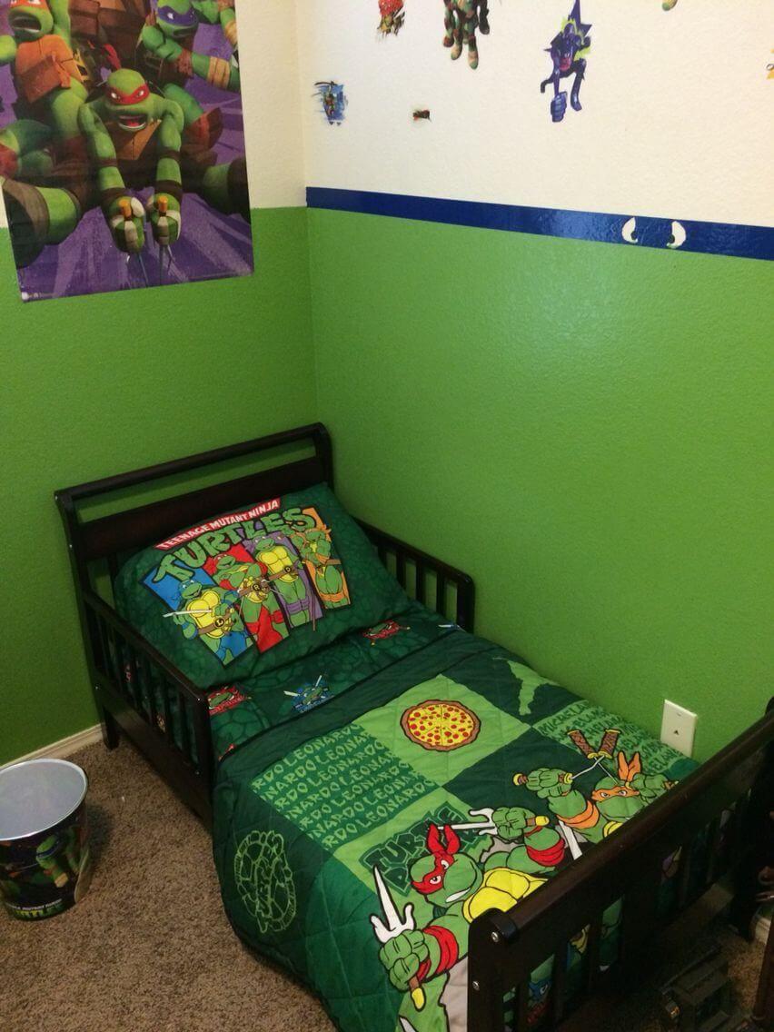 10 Ninja Turtles Bedroom Ideas 2021 Toddlers And Kids Turtle Bedroom Ninja Turtle Bedroom Ninja Turtle Room