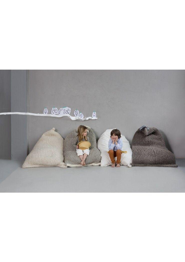 Zitzak Zila Lila.Zilalila Nest Zitzak Kids Bean Bags Kids Decor Knitting For Kids