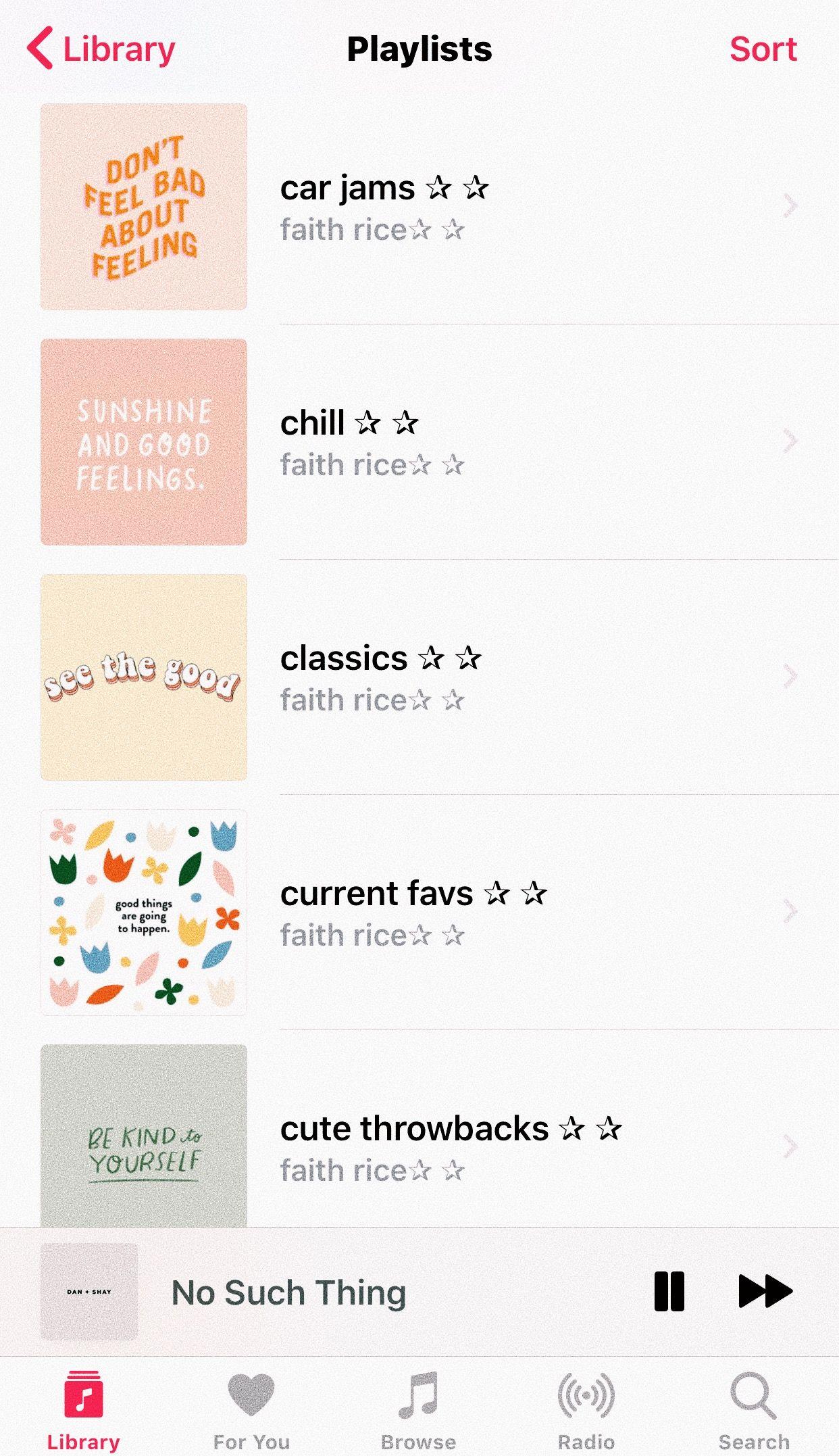 Apple Music Faithrice6 Spotify Playlist Covers Artsy Vsco Album
