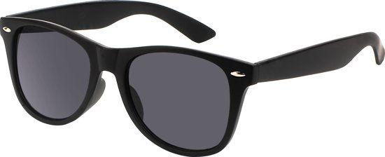 21aa0321f8b7c8 All Cheap Sunglasses - Zonnebril - Wayfarer style met zwarte glazen ...