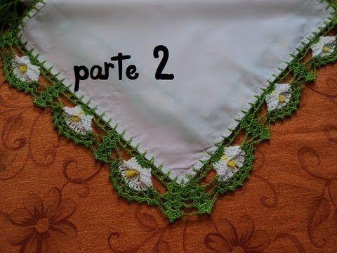 PUNTILLA ALCATRAZ PARA SERVILLETAS,PARTE 2 | puntadas y cenefas ...