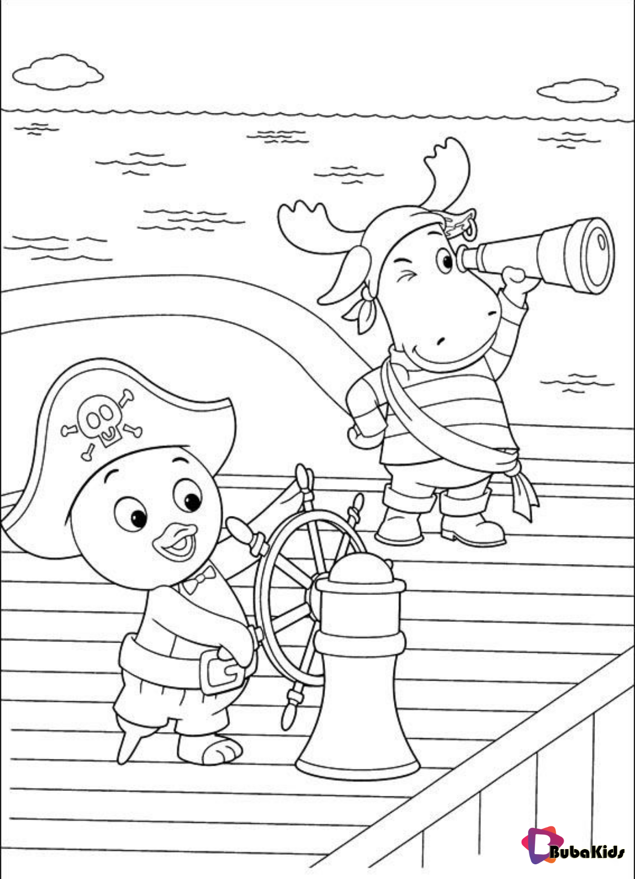 The Backyardigans Printable Coloring Pages Backyardigans Bubakids Com Backyardigans Bubakid Coloring Pages Printable Coloring Pages Cartoon Coloring Pages