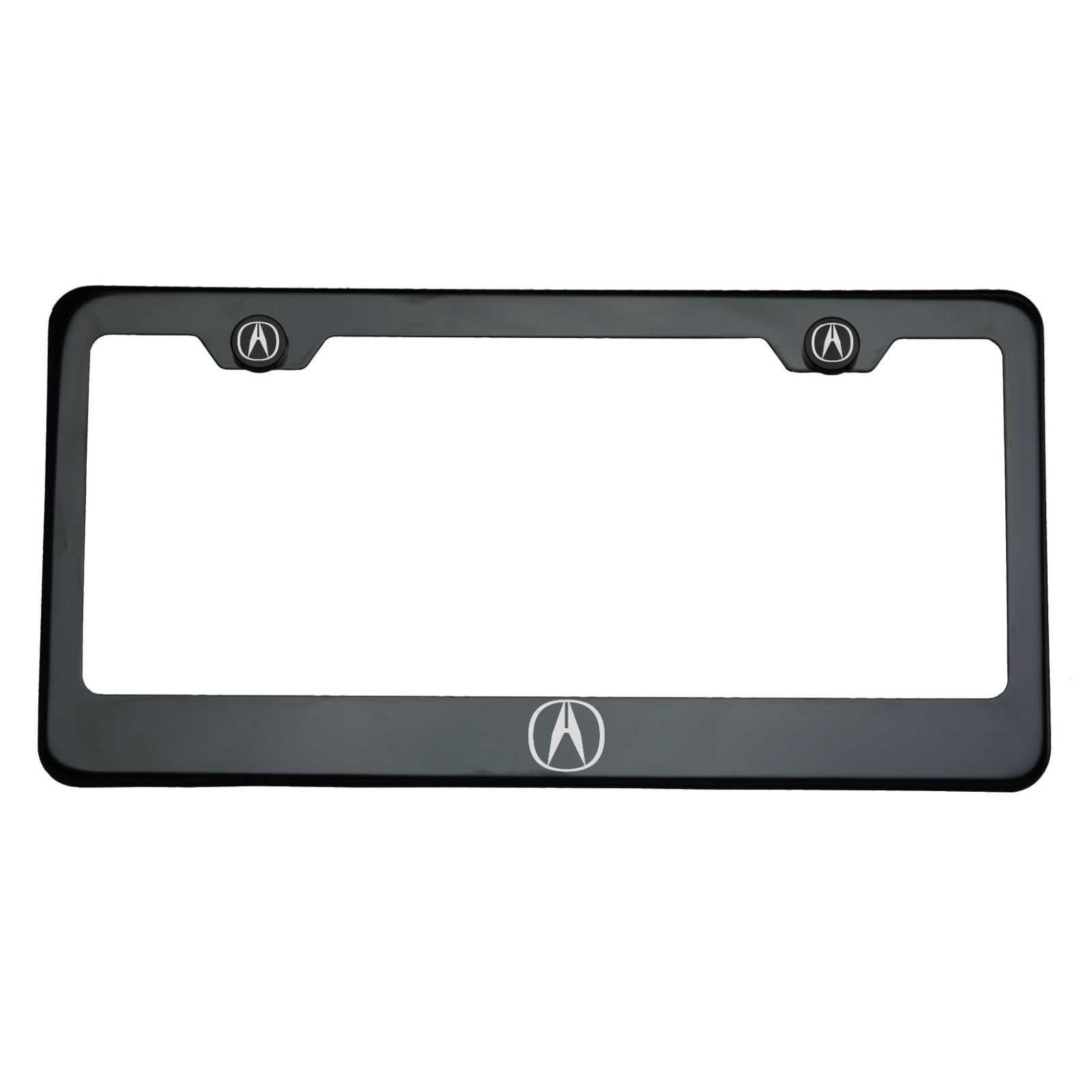 Acura Black License Plate Frame