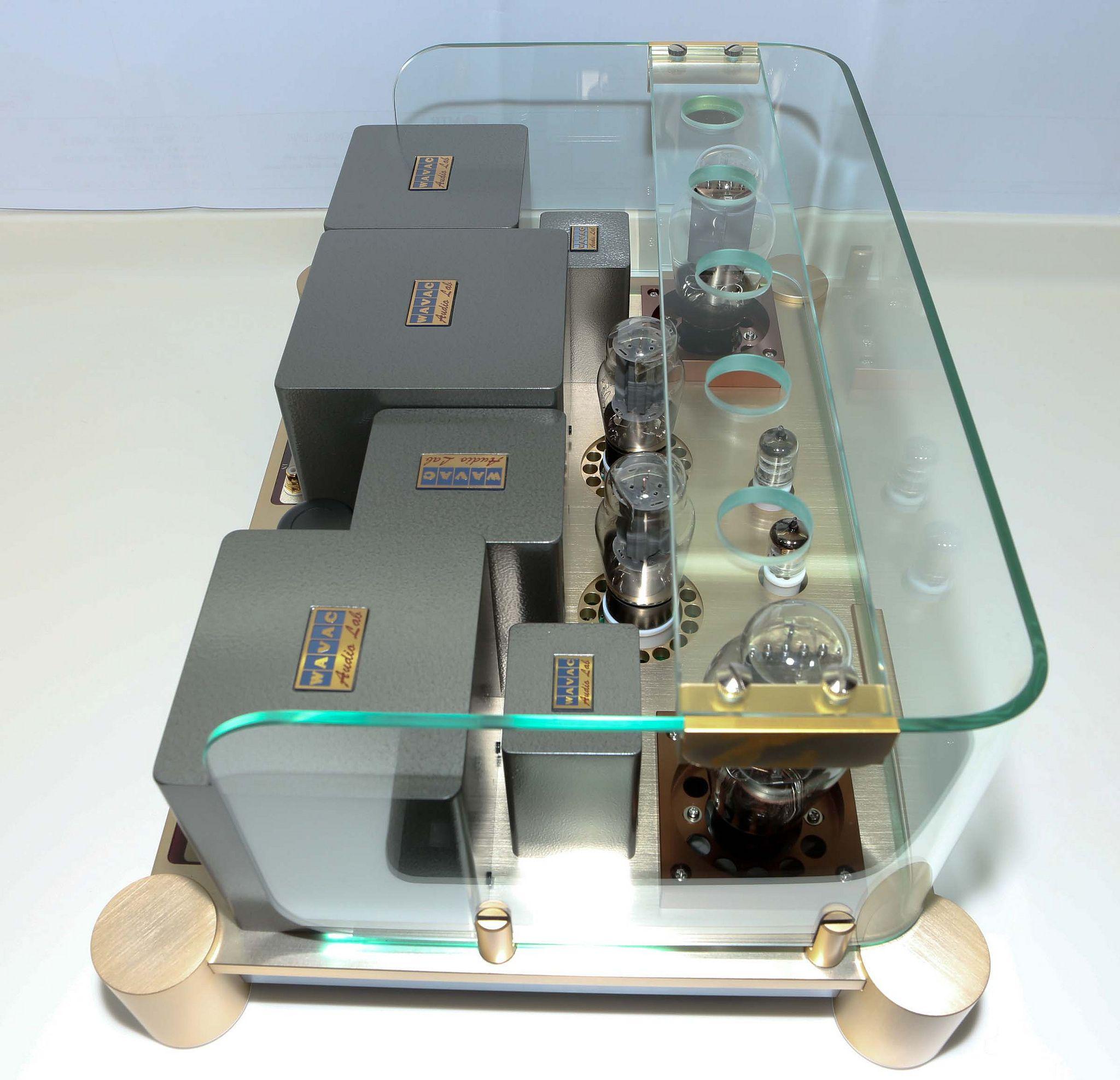 Wavac Ec300b Audio Design Valve Amplifier Audiophile