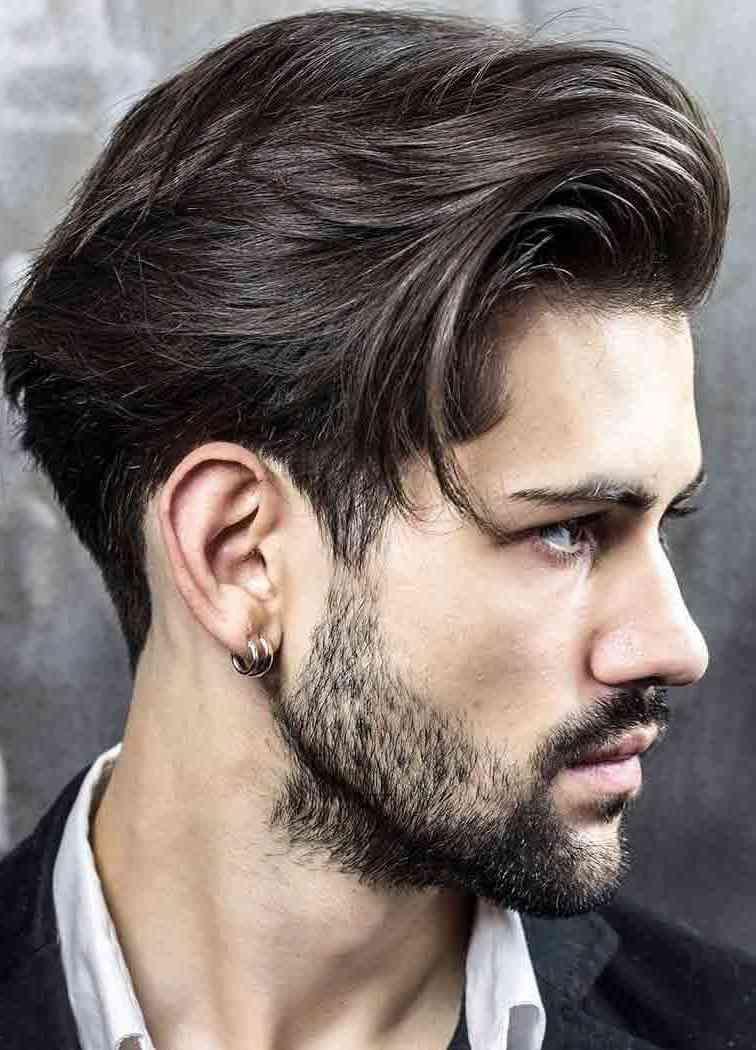 10 Trend Haarschnitt 2020 Herren Ideen In 2020 Glatte Schwarze Haare Lange Haare Manner Herren Frisuren Klassisch