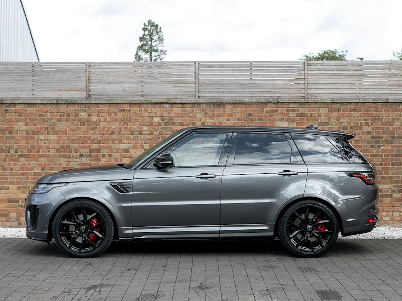 2018 Used Land Rover Range Rover Sport Svr Corris Grey