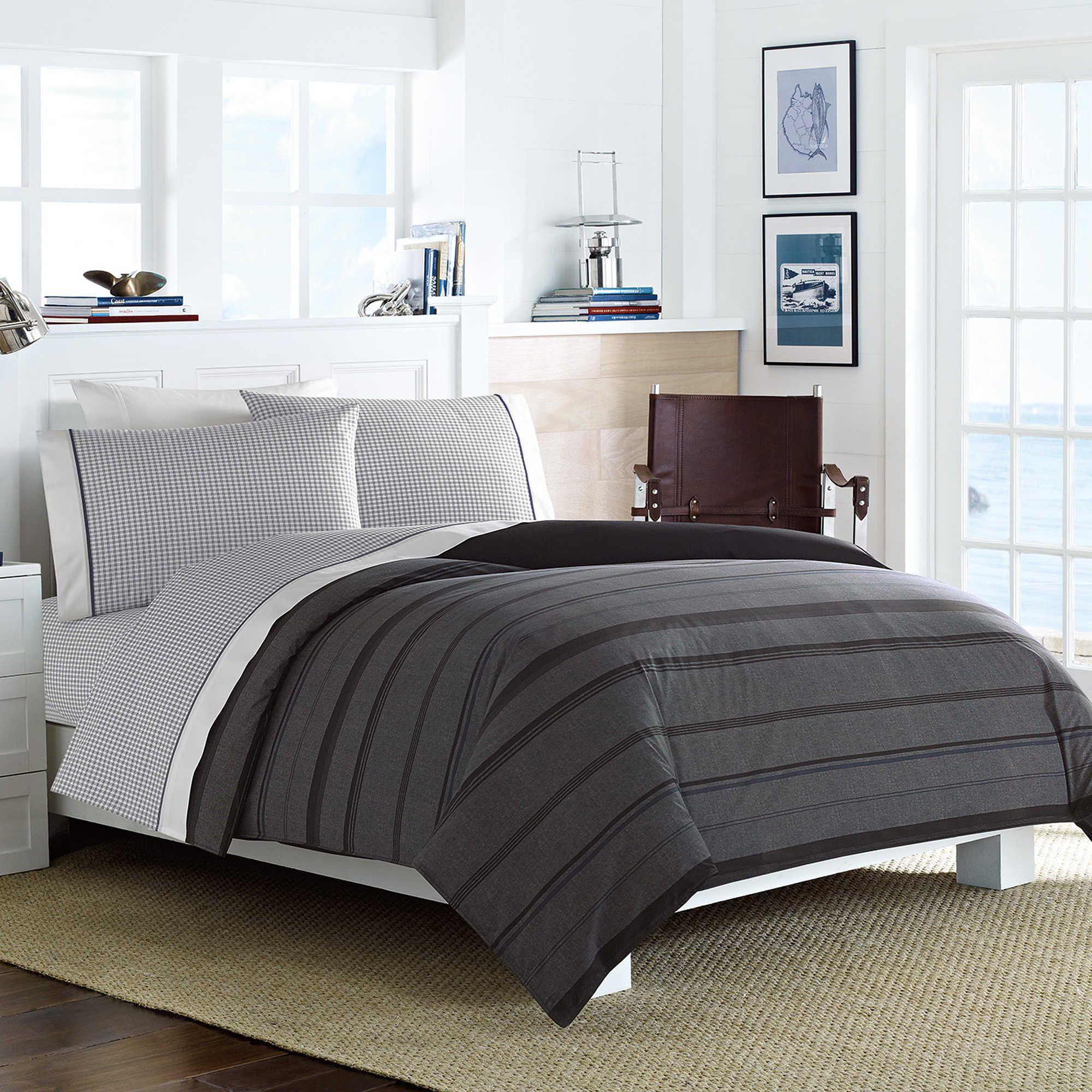 Nautica Sebec Comforter Set In Grey Comforter Sets Comforters