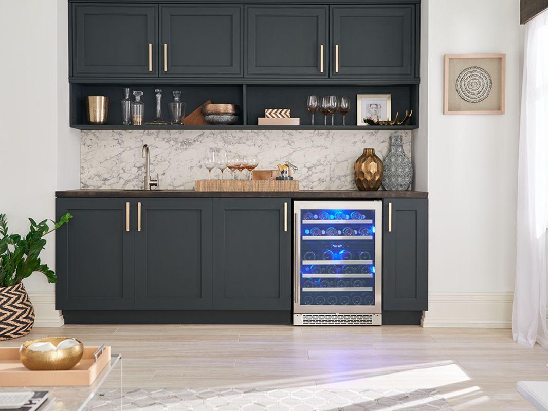 Zephyr Presrv Dual Zone Wine Cooler In 2020 Dual Zone Wine Cooler Wine Cooler Kitchen Remodel