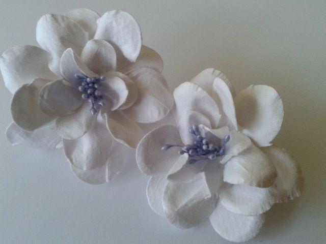 Papierowe Fantazje Ewqi Recznie Robione Kwiaty Z Papieru Paper Clay Floral Flowers