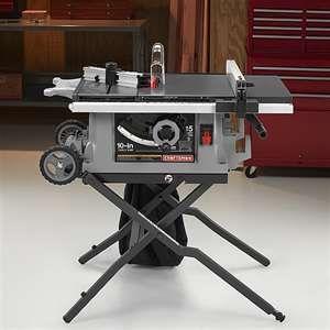 Craftsman 10 Portable Contractors Table Saw Contractor Table Saw Drafting Desk Craftsman