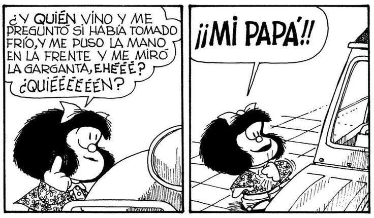 Eve Garcia Eveyhugo96 Mafalda Quotes Comics Toons Memes