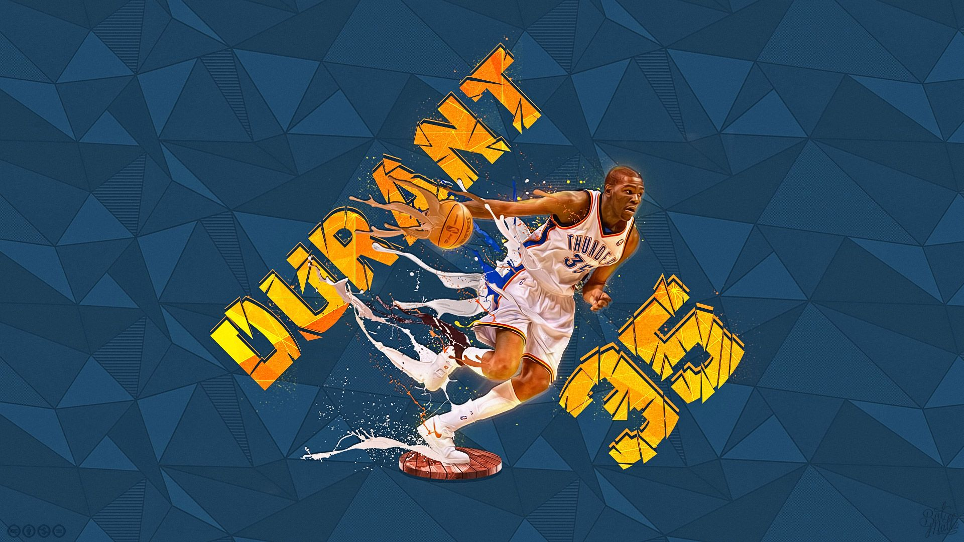 Kevin Durant 1080p Wallpaper http//wallpapersand