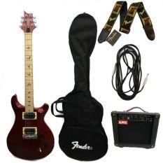 https://www.i-sabuy.com/ กีต้าร์ไฟฟ้า CAROLS  กระเป๋าใส่กีต้าร์ สายสะพาย Fender สายแจ็ค ตู้แอมป์Rock