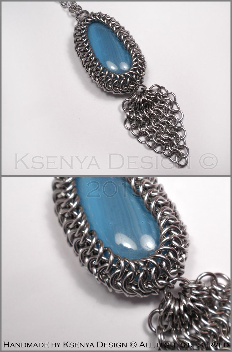 Turquoise Hippie - unique wire-wrapped pendant. #jewelry ...