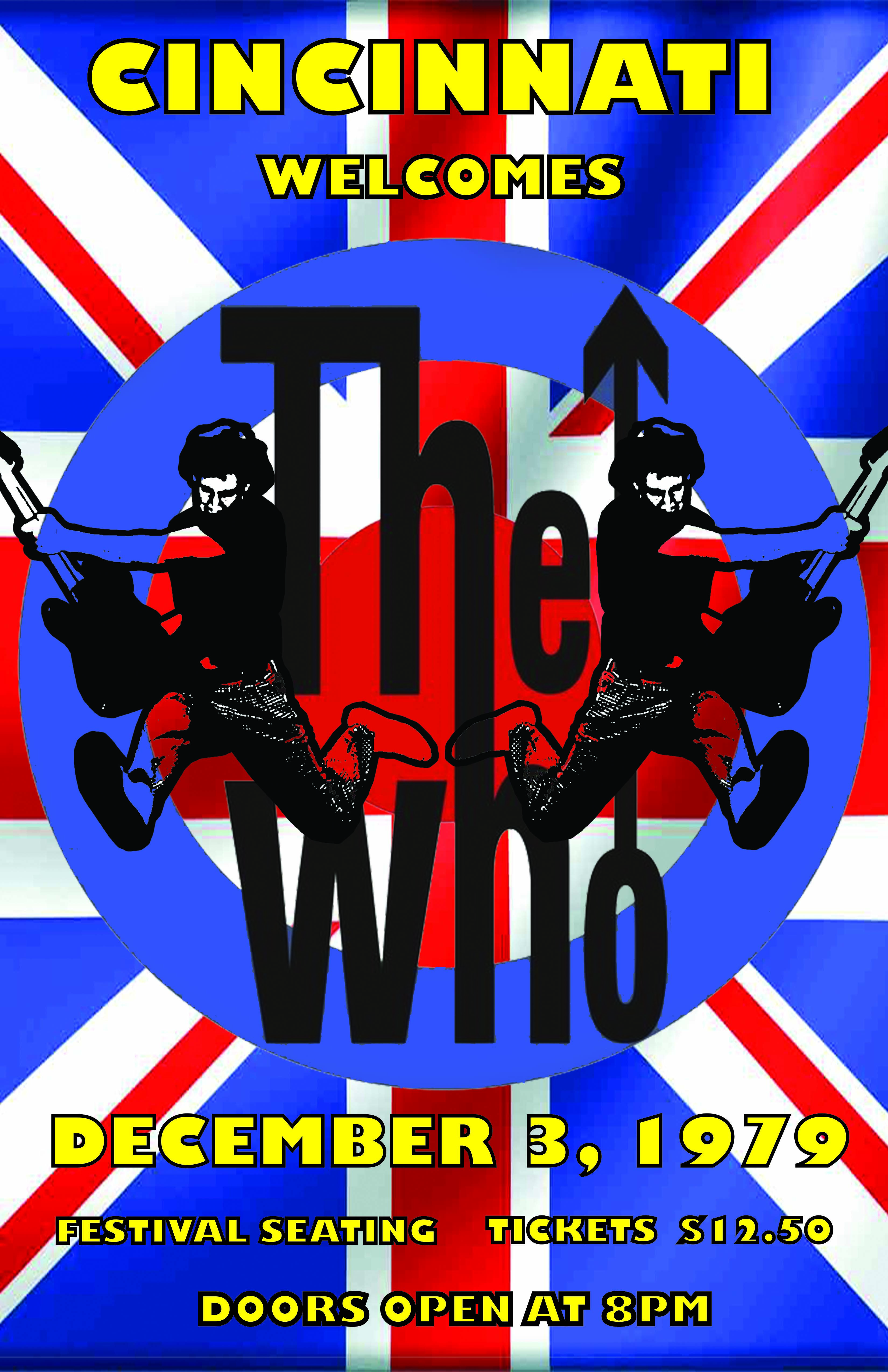 Poster Showcasing The Tragic Concert By The Who In