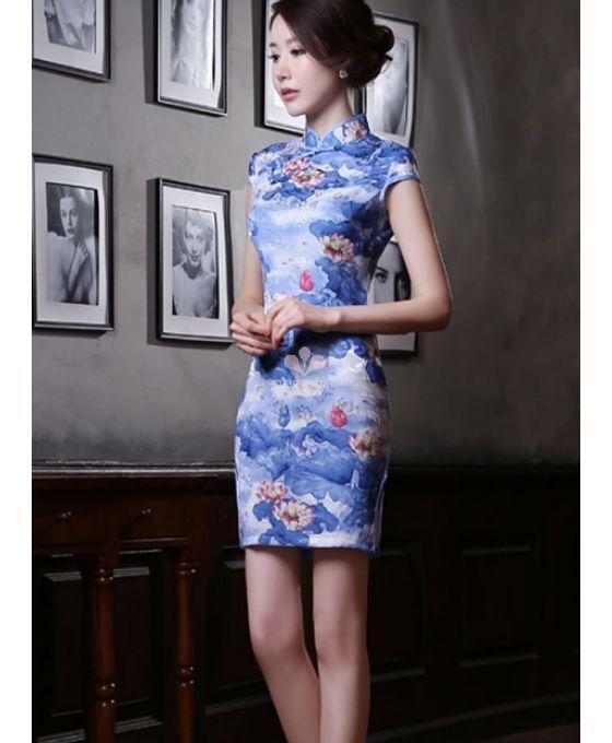 1d546c1e1a4b11 Mini robe de cérémonie traditionnelle Chinoise ou Japonaise en pure ...