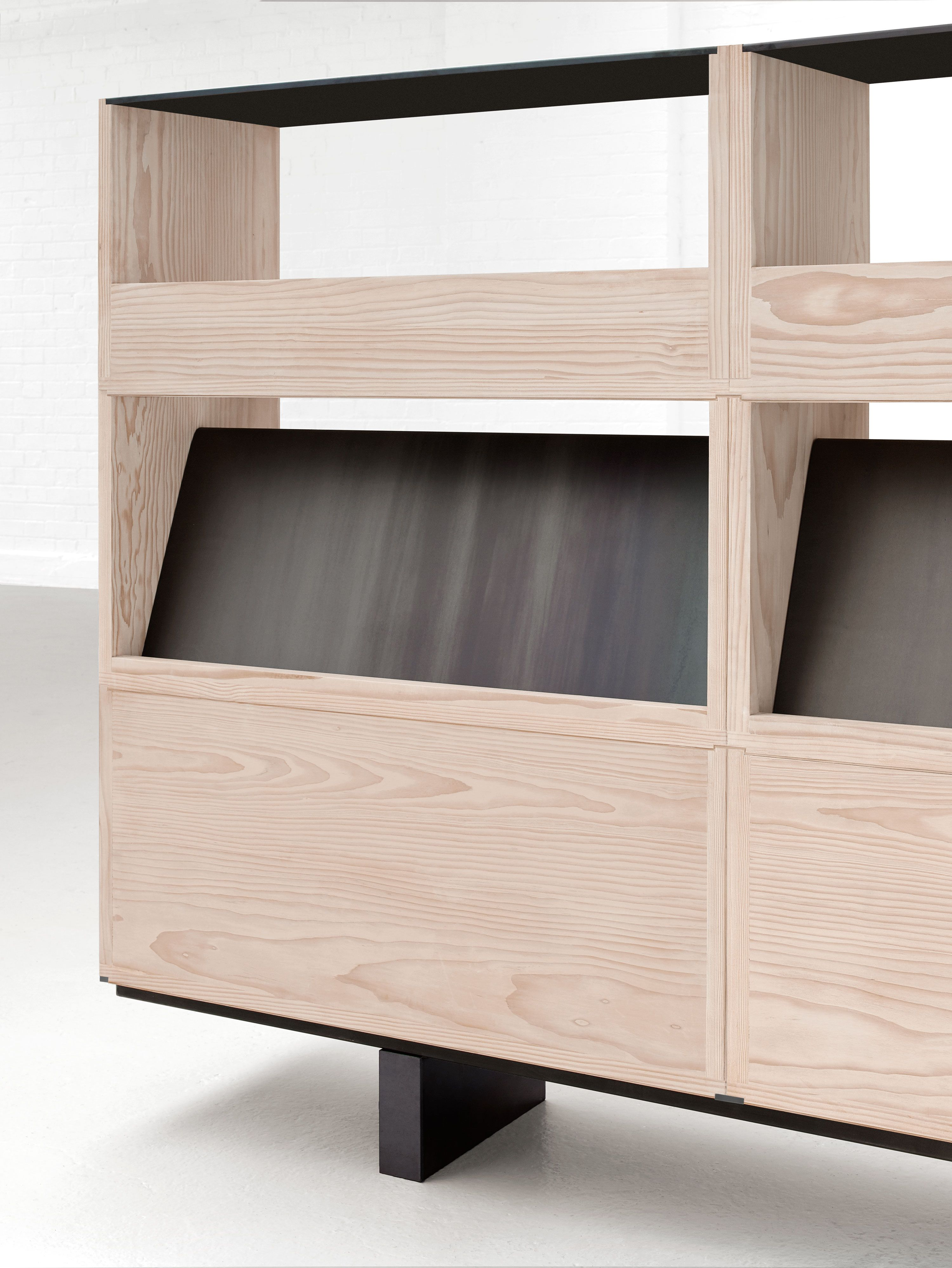 Paul crofts studio assembled collection stack isomi entryway furniture modular furniture