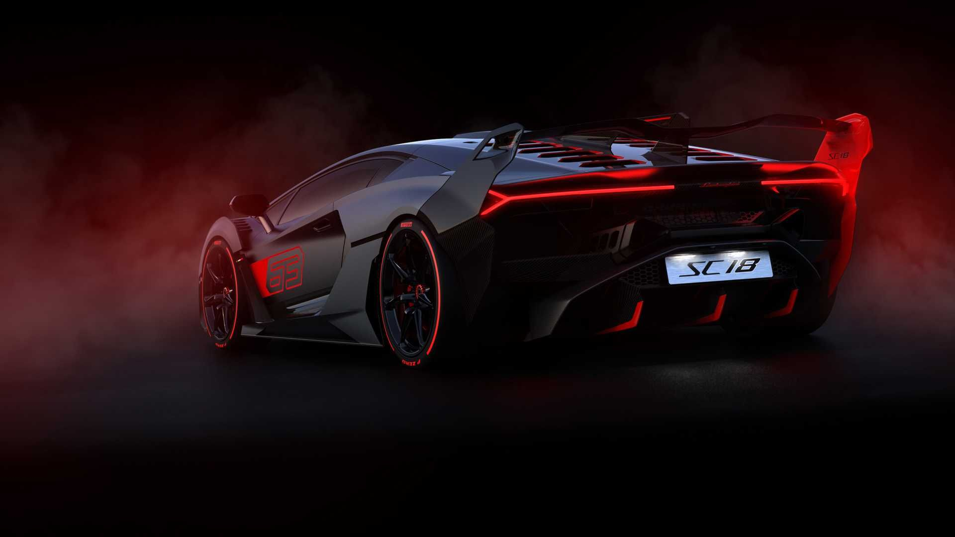 Lamborghini Sc18 Supercar Is A One Off Demonic Aventador Sports Car Lamborghini Classic Cars