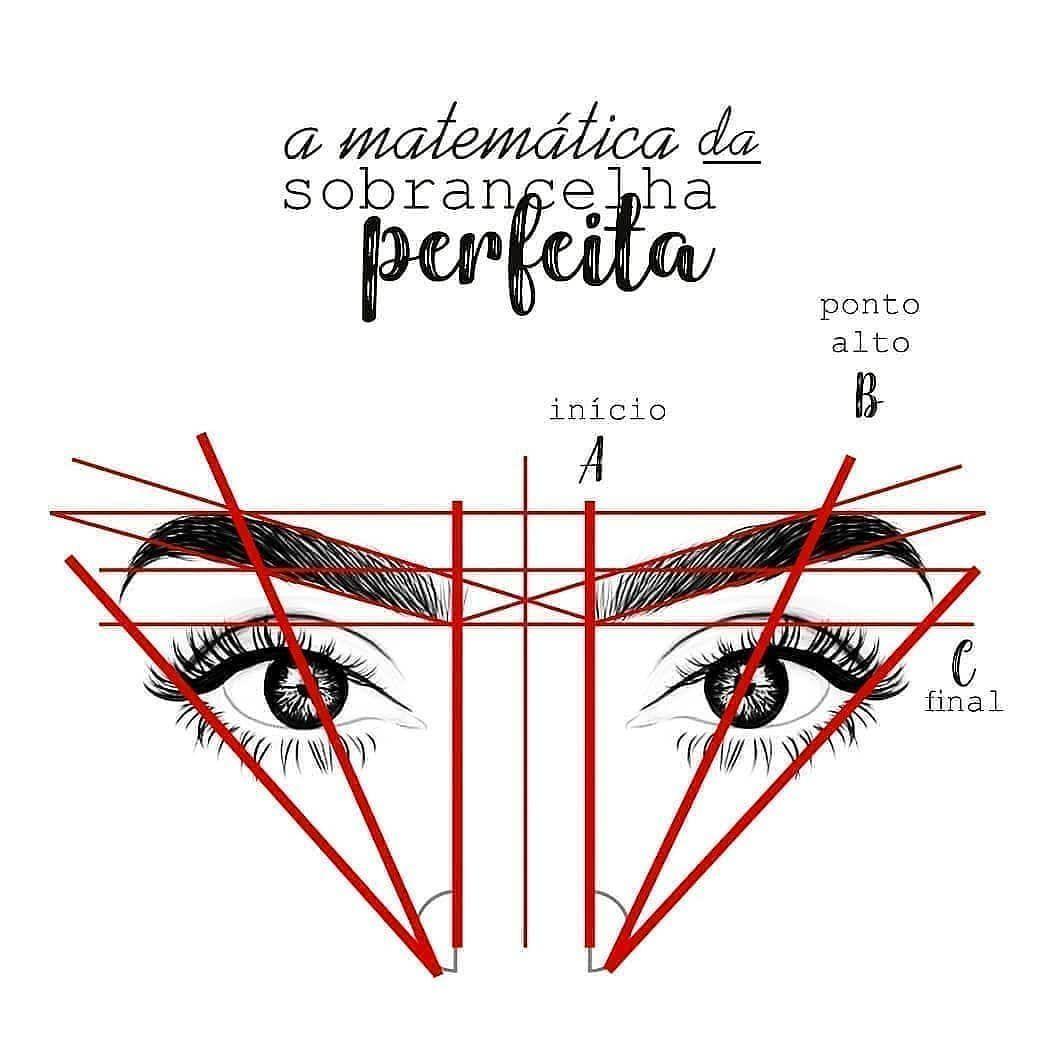 """Photo of Perfekte Augenbrauen❤ auf Instagram: """"Lerne Augenbrauenmathematik!"""" –  Ler…"""