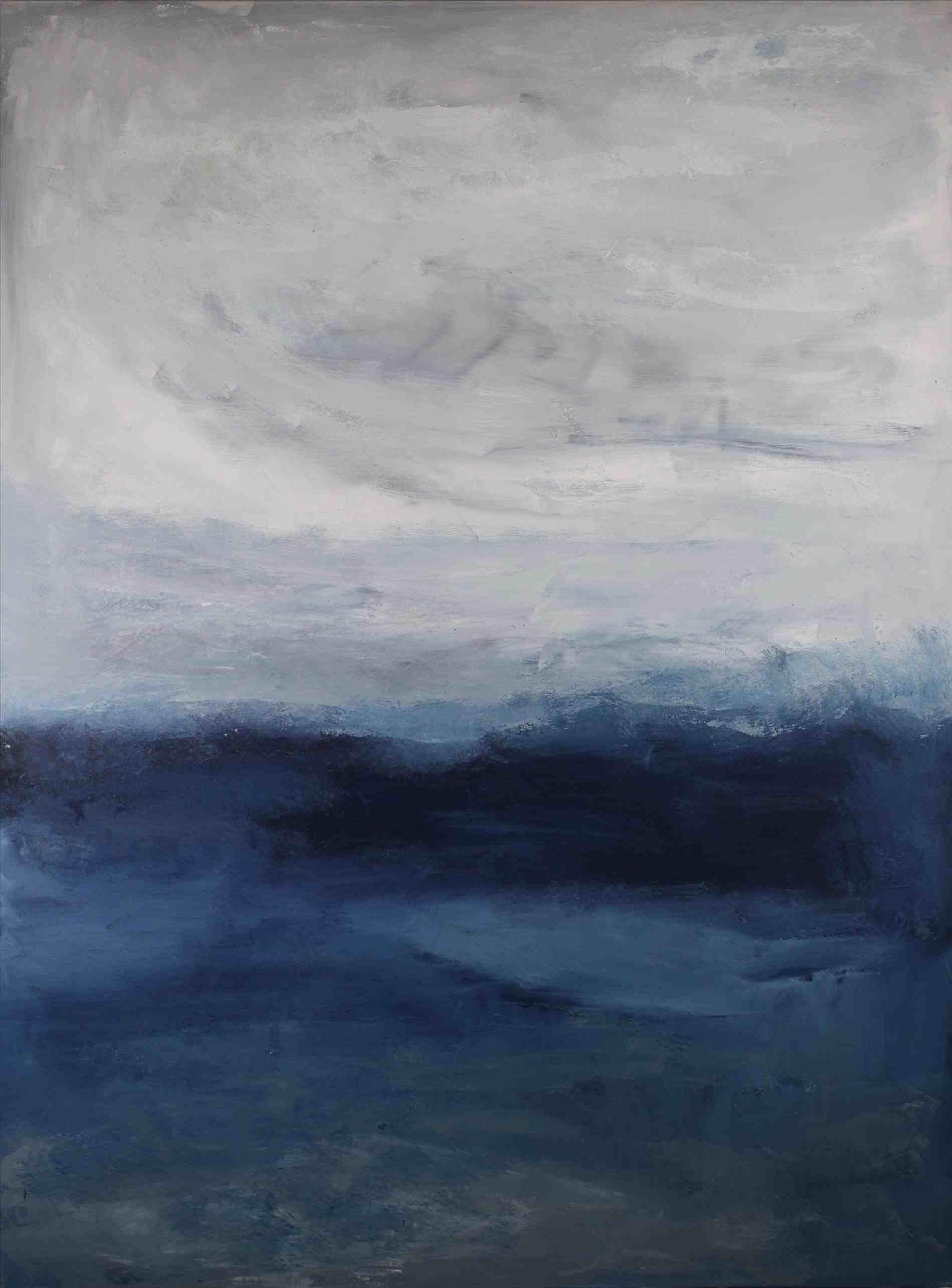 Abstract Ocean Landscape Painting Ocean Landscape Painting Abstract Abstract Art Painting Diy