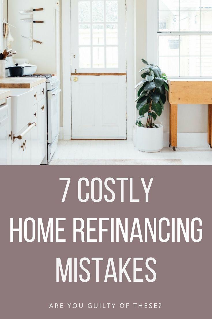 Worst Mortage Refinance Mistakes | Frugal living, Frugal and Blogging