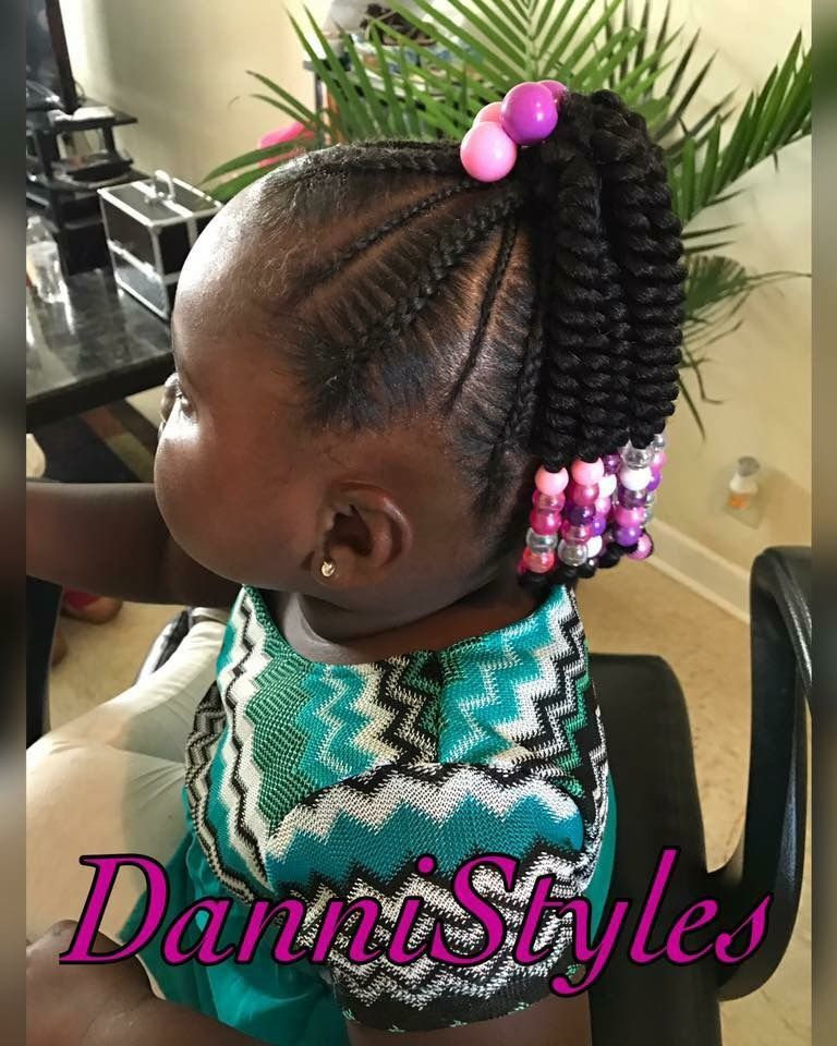 Crochet Ponytail For More Follow My Daily Z To Stay On Of The Everÿthing Chanel Monroe Kids Braided Hairstyles Hair Styles Kids Hairstyles