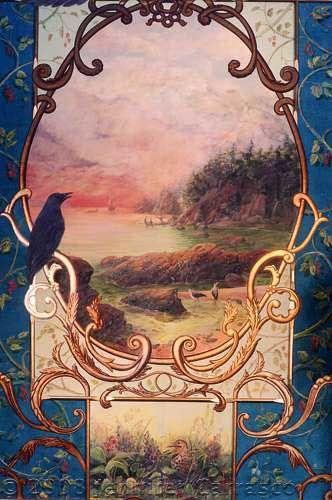 Gorgeous cartouche by Jennifer Carrasco.