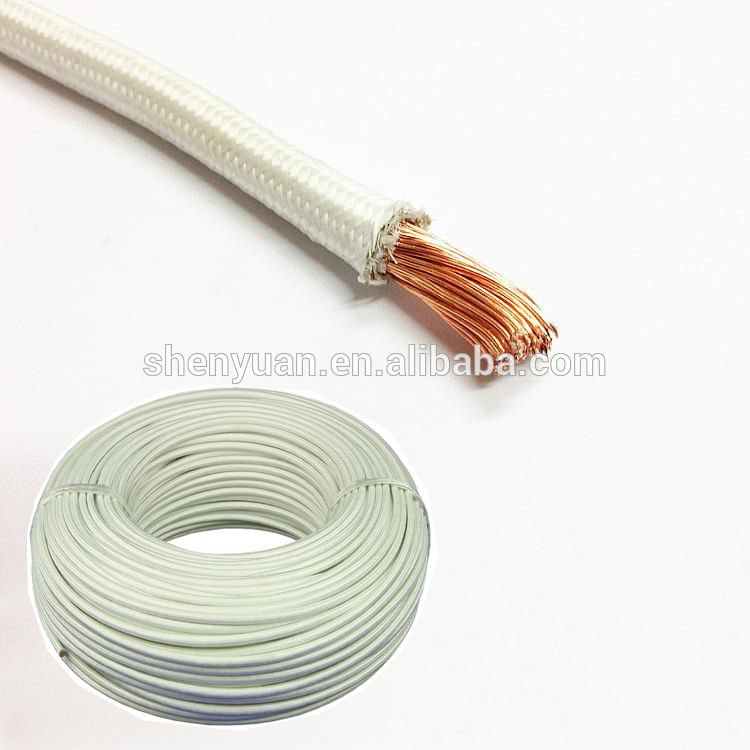 566e039d3e93 pure nickel fiberglass braided 450C high temperature wire Shielded Cable,  Garden Hose, Pure Products