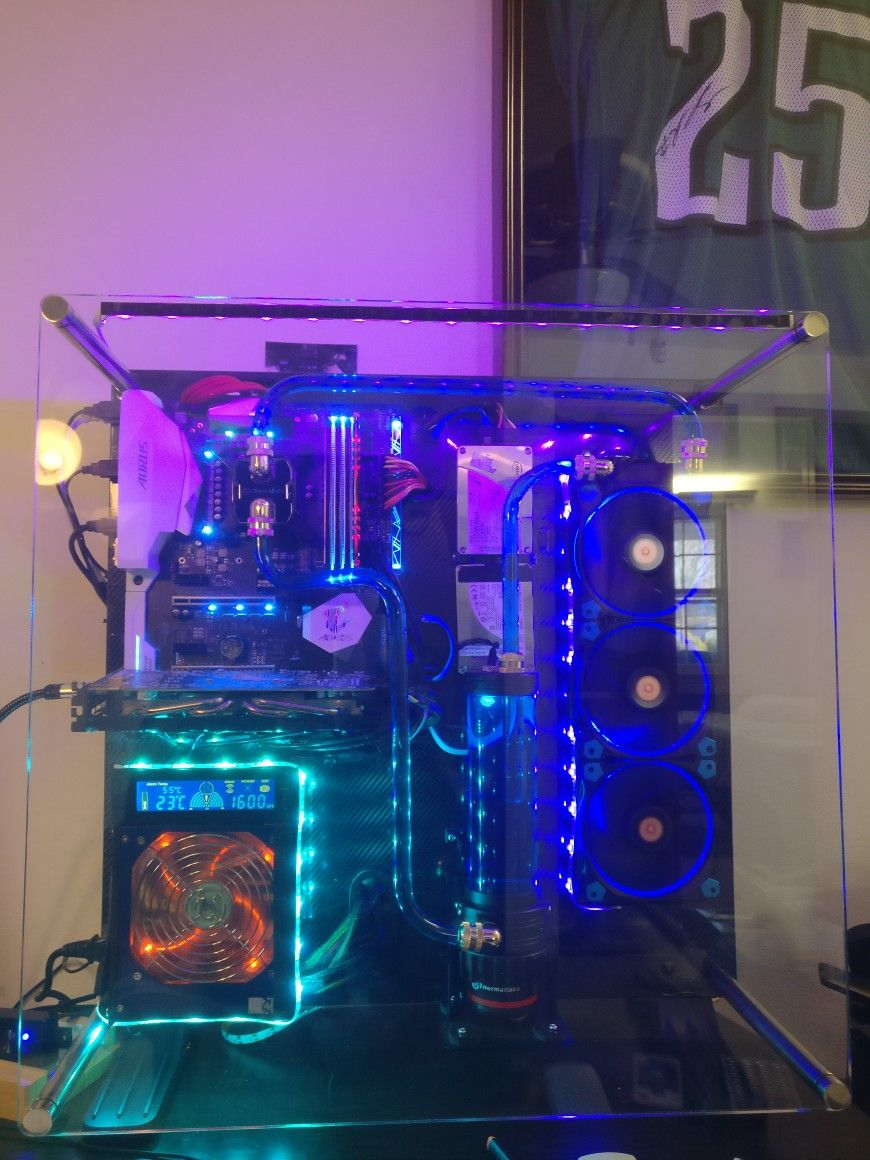 Water Cooling System P5 Custom Pc Cool Stuff Water Cooling